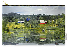 Barn At Little Elk Lake Carry-all Pouch