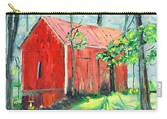 Barn At Walpack Carry-all Pouch