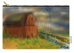 Barn Carry-all Pouch by Marisela Mungia
