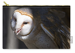Barn Owl 1 Carry-all Pouch by Chris Flees