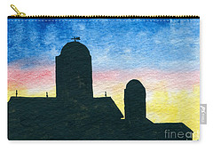 Barn Silhouette 2 Carry-all Pouch