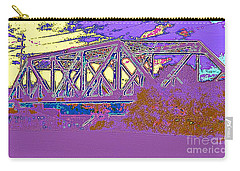 Barnes Ave Erie Canal Bridge Carry-all Pouch
