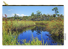 Barnett Creek In August Carry-all Pouch