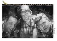 Barney Opie And Andy Carry-all Pouch by Paulette B Wright