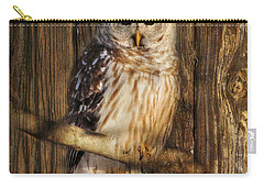 Barred Owl 1 Carry-all Pouch