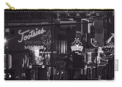 Bars On Broadway Nashville Carry-all Pouch by Dan Sproul