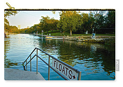 Barton Springs Pool In Austin Texas Carry-all Pouch