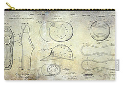 Baseball Patent Panoramic Carry-all Pouch by Jon Neidert