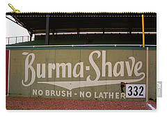 Baseball Field Burma Shave Sign Carry-all Pouch