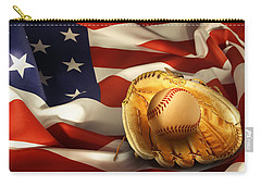 Baseball Carry-all Pouch by Les Cunliffe