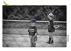 Baseball Or Girls Carry-all Pouch