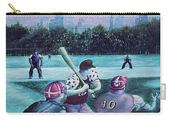 New York Central Park Baseball - Watercolor Art Carry-all Pouch