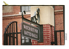 Baseball Warning Carry-all Pouch