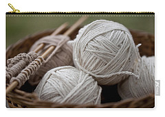 Basket Of Yarn Carry-all Pouch