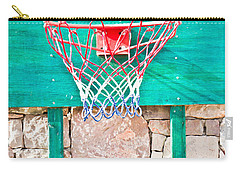 Basketball Net Carry-all Pouch by Tom Gowanlock