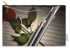 Bassoon Music Instrument Photograph In Color 3406.02 Carry-all Pouch