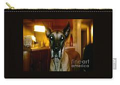 Batdog Duke Carry-all Pouch by Kelly Awad