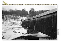 Bath Covered Bridge Carry-all Pouch by Barbara Bardzik