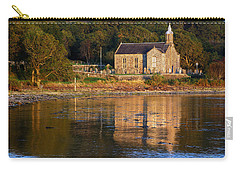 Carry-all Pouch featuring the photograph Bathed In Gods Light by Wendy Wilton