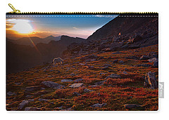 Bathing In Last Light Carry-all Pouch by Jim Garrison