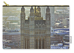 Battersea Power Station And Victoria Tower London Carry-all Pouch