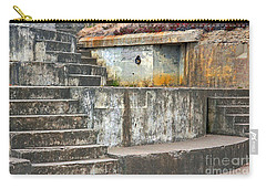 Carry-all Pouch featuring the photograph Battery Chamberlin by Kate Brown