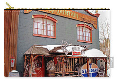 Battle Mountain Trading Post Carry-all Pouch by Fiona Kennard