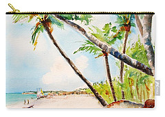 Bavaro Tropical Sandy Beach Carry-all Pouch