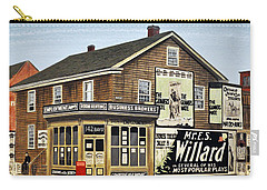 Carry-all Pouch featuring the painting Bay And Adelaide Streets 1910 by Kenneth M  Kirsch