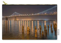 San Francisco Bay Bridge Light Show Carry-all Pouch