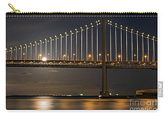 Bay Bridge Moon Rising Carry-all Pouch