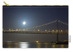 Bay Bridge Supermoon Carry-all Pouch
