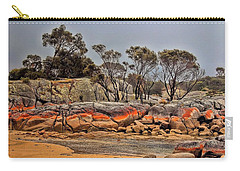 Carry-all Pouch featuring the photograph Bay Of Fires 2 by Wallaroo Images