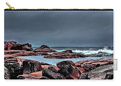 Carry-all Pouch featuring the photograph Bay Of Fires 3 by Wallaroo Images