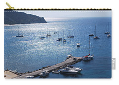 Carry-all Pouch featuring the photograph Bay Of Porto by George Katechis