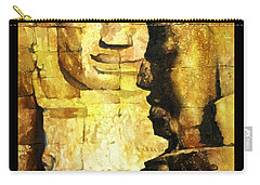 Bayon Khmer Temple At Angkor Wat Cambodia Carry-all Pouch