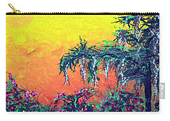 Carry-all Pouch featuring the painting Bayou Honeymoon by Alys Caviness-Gober