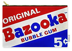 Bazooka Bubble Gum  Carry-all Pouch