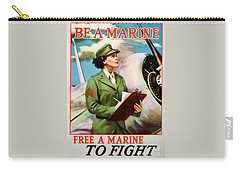 Be A Marine - Free A Marine To Fight Carry-all Pouch