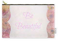Be Beautiful Daisies Carry-all Pouch