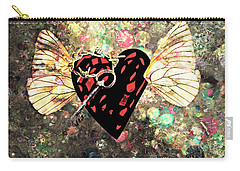 Carry-all Pouch featuring the photograph Be My Valentine by Ally  White