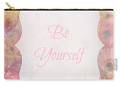 Be Yourself Daisies Carry-all Pouch