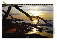 Beach 69 Hawaii At Sunset Carry-all Pouch