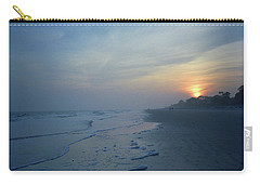 Beach And Sunset Carry-all Pouch