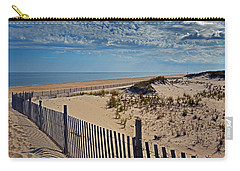 Beach At Cape Henlopen Carry-all Pouch