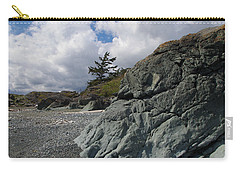 Beach At Fort Rodd Hill Carry-all Pouch