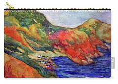 Beach At Moraira Carry-all Pouch
