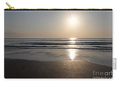 Beach At Sunrise Carry-all Pouch