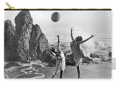 Beach Ball Dancing Carry-all Pouch by Underwood Archives