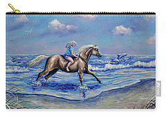 Beach Blonde Running Mates Carry-all Pouch